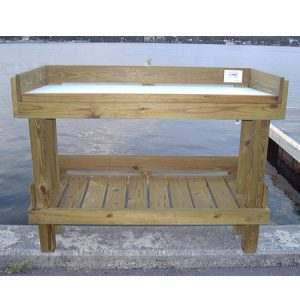 Wooden Fillet Tables With Custom Sizes Available Florida